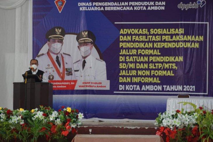 DPPKB Pemkot Ambon advokasi pendidikan kependudukan