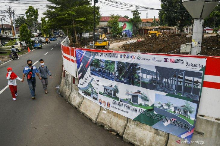 Revitalisasi kawasan Stasiun Manggarai