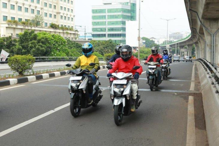 Membelah jalanan Ibu Kota menunggangi Yamaha Gear 125 1
