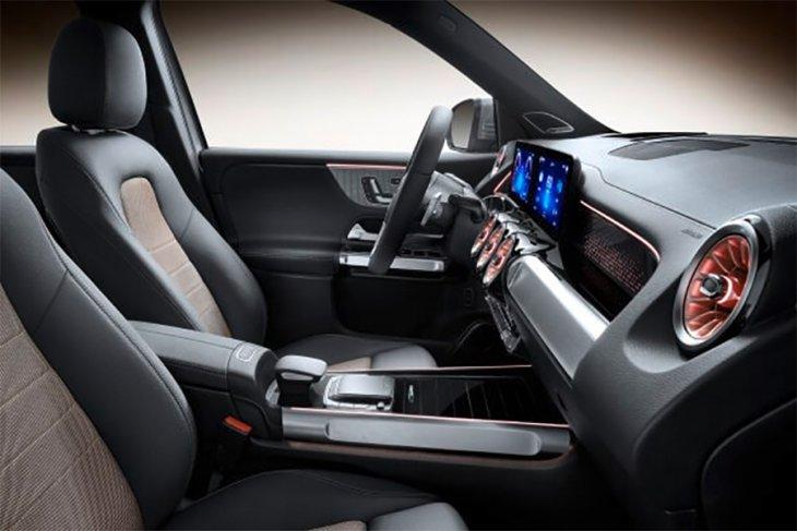 EQB, SUV listrik 7-seaters Mercedes-Benz 1