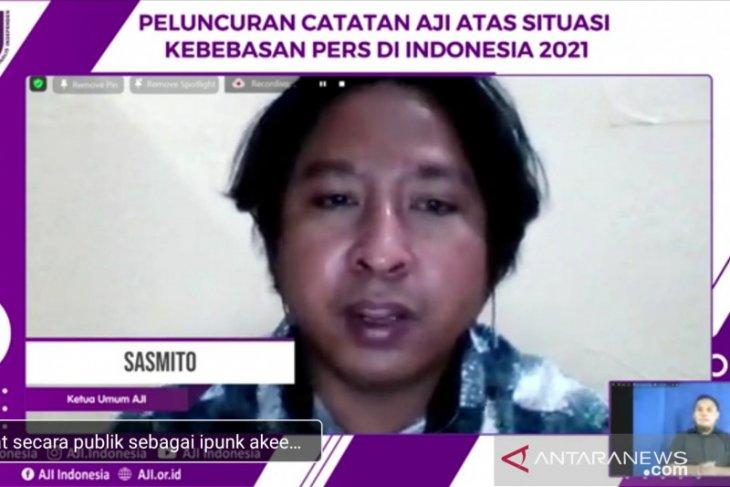 AJI  sebut pelaku kekerasan terhadap jurnalis paling banyak adalah Polri thumbnail