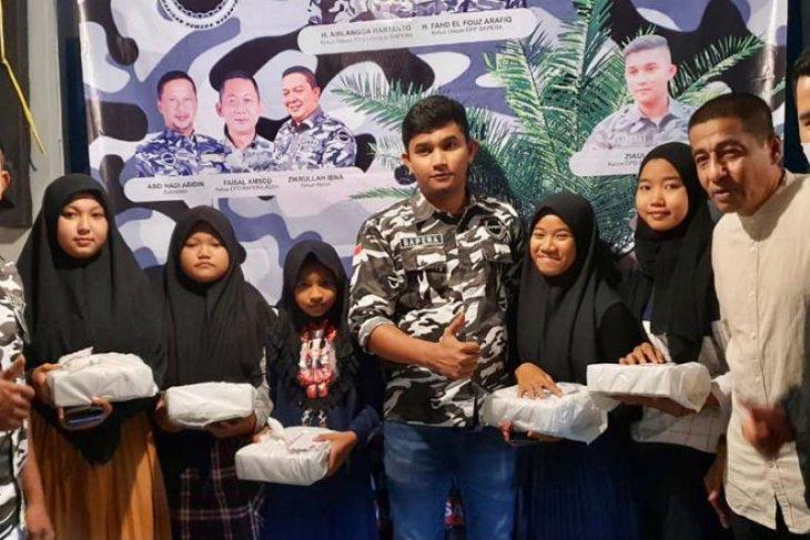 Momentum Ramadhan, DPD Bapera Sabang santuni anak yatim thumbnail