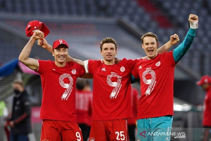 Bayern Muenchen kuasai gelar sembilan musim terakhir thumbnail
