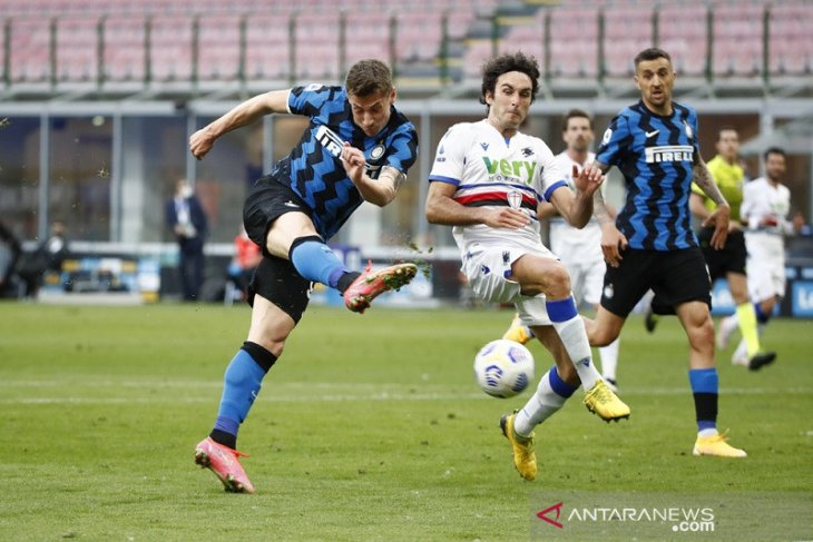 Inter lanjutkan tren kemenangan saat gulung Sampdoria thumbnail