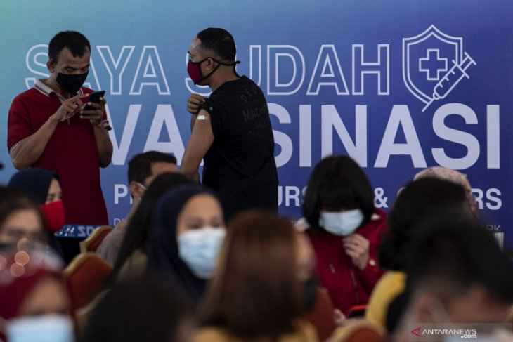 Ini total penduduk Indonesia yang telah selesaikan vaksinasi COVID-19 thumbnail
