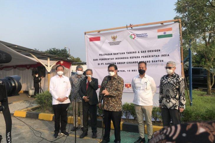 Indonesia  kirim bantuan oksigen untuk korban pandemi COVID-19 di India thumbnail
