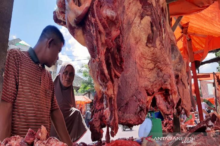 Harga daging meugang Idul Fitri di Banda Aceh Rp 170 per kilogram thumbnail