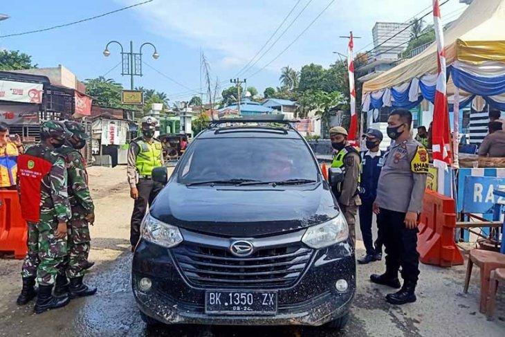 184 kendaraan bermotor ditolak masuk Provinsi Aceh thumbnail