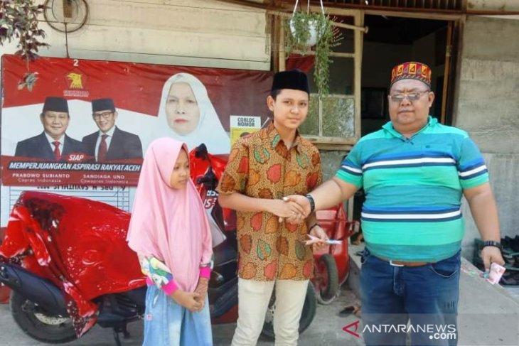Memasuki Idul Fitri, IKNR Aceh Barat santuni yatim thumbnail
