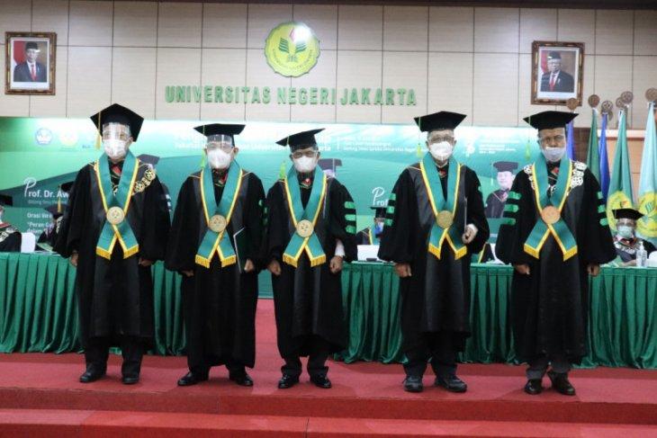 UNJ kukuhkan lima profesor guru besar ilmu pendidikan