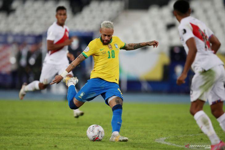 Copa America 2021: Brazil kalahkan Peru 4-0