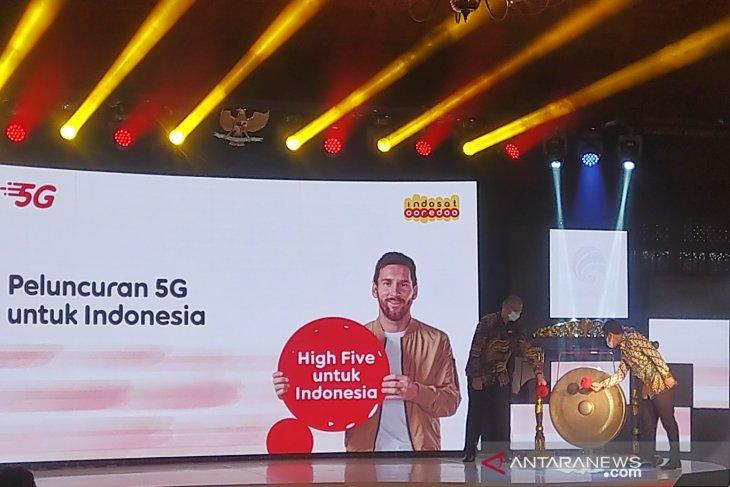 Indosat meluncurkan layanan 5G pertama di Solo