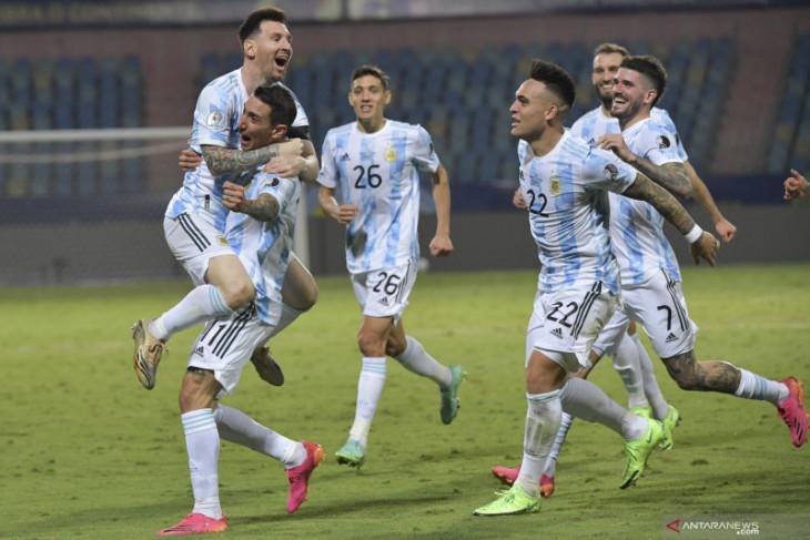 Lionel Messi pimpin Argentina ke semifinal Copa America