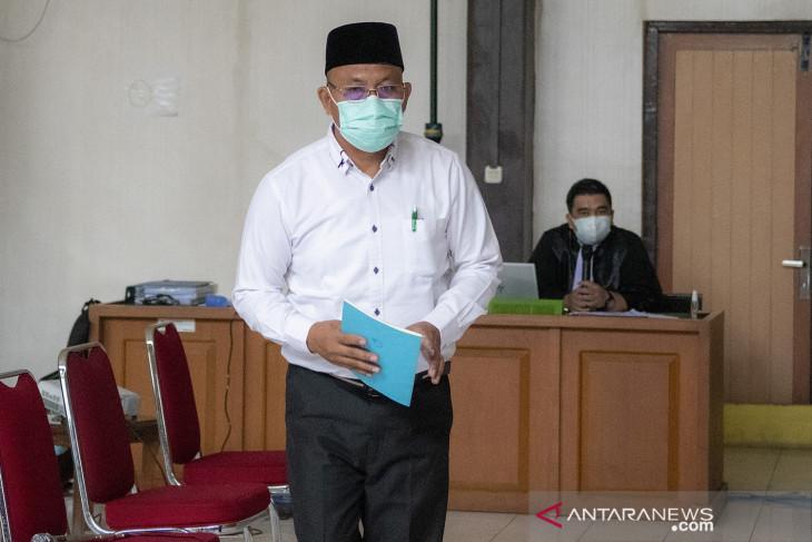 Sidang lanjutan Bupati Kabupaten Muara Enim nonaktif Juarsah