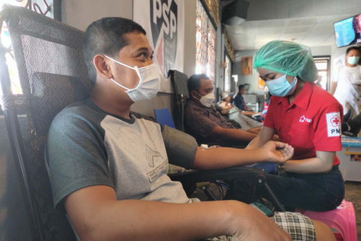 Garga Pemuda NasDem Papua Barat Aksi Donor Darah Sambut HUT RI