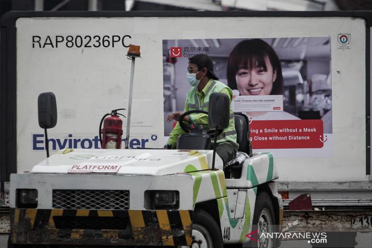 Lima juta vaksin Sinovac tiba kembali di Indonesia