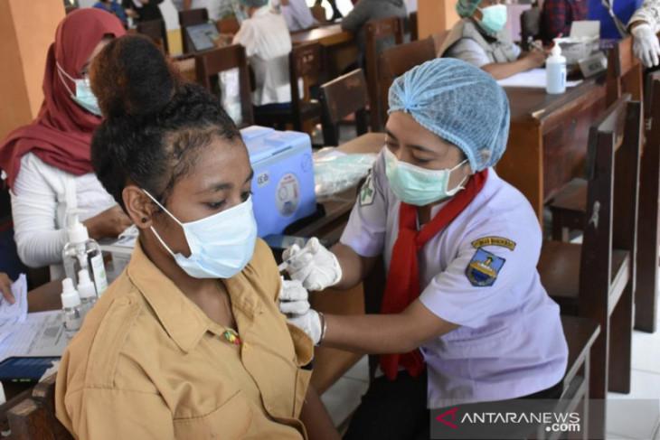 Provinsi Papua Barat luncurkan vaksinasi pelajar untuk merdeka belajar