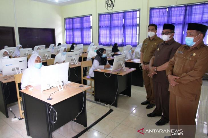 Positif COVID-19, Sembilan peserta tes CPNS P3K di Aceh Barat gagal ikut ujian