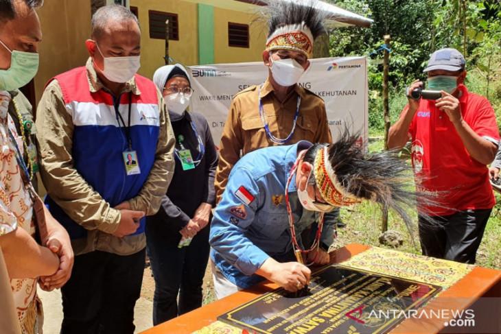Kilang Pertamina Internasional Kasim bangun Klinik Karantina di TWA Sorong
