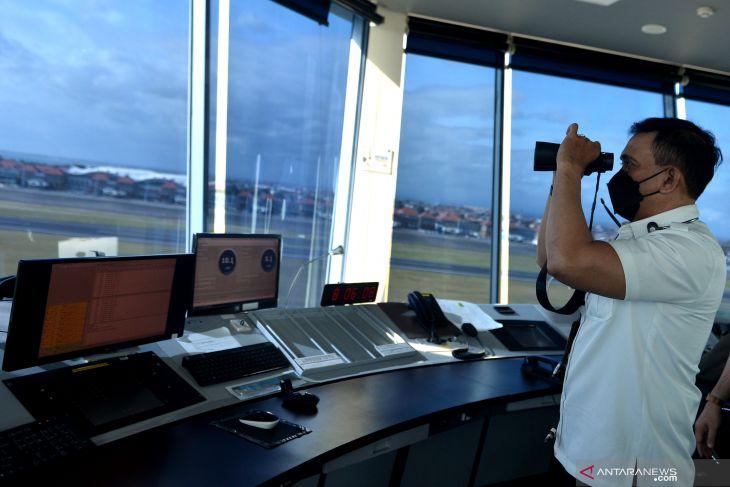 Persiapan pembukaan kembali penerbangan internasional Bandara I Gusti Ngurah Rai