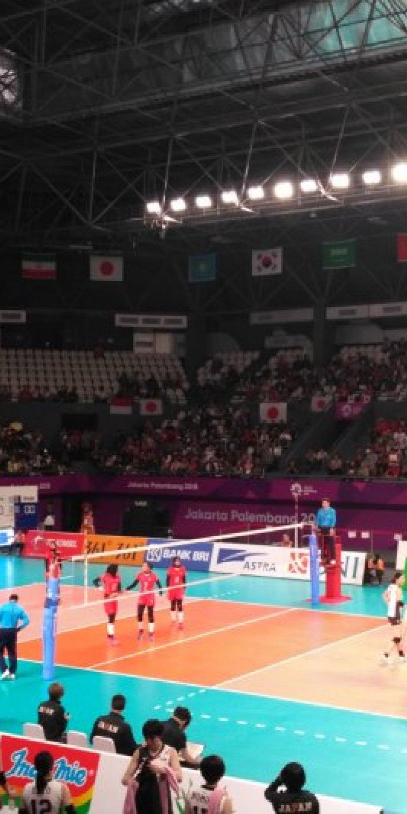 Tim Voli Putri Indonesia Dikalahkan Jepang ANTARA News