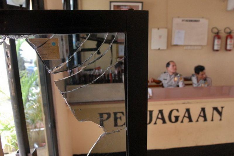 Polisi selidiki CCTV pengrusakan RM Manado
