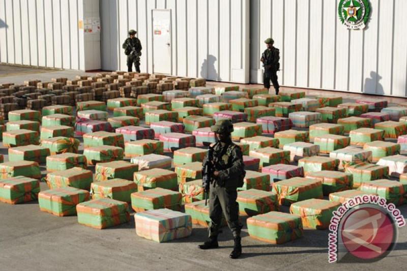 Operasi AS-Kolombia gagalkan pengiriman 7,5 ton kokaina