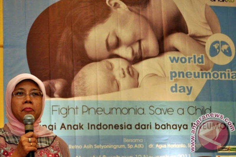 Pneumonia membunuh satu anak per 39 detik