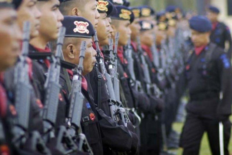Kronologi tergulingnya mobil Brimob Polda Jatim pengawal Presiden
