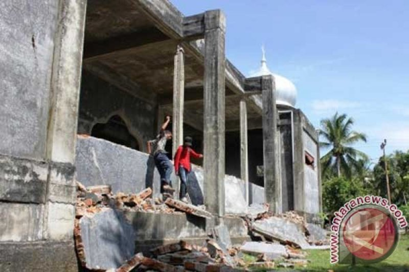 Gempa berkekuatan 4,4 SR guncang Simeulue Aceh