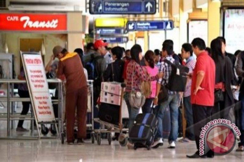 Bandara Mutiara Dipadati Pemudik