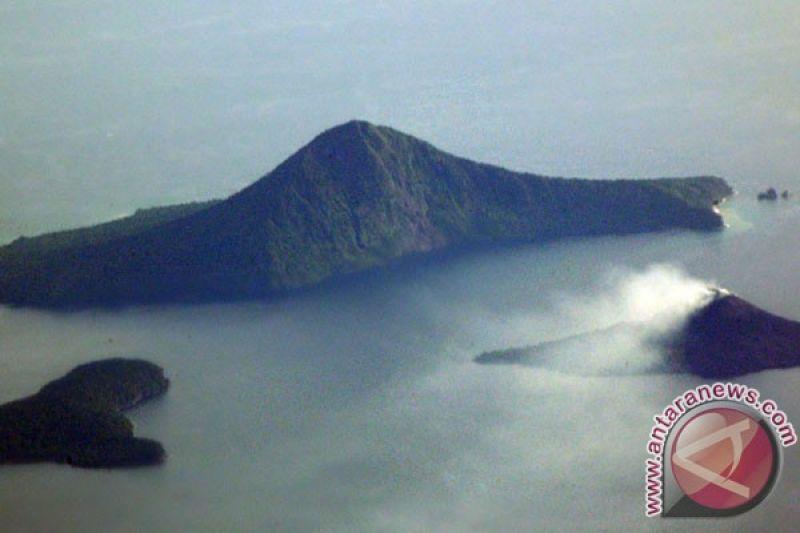 PVMBG: Gunung Anak Krakatau alami enam kali kegempaan embusan