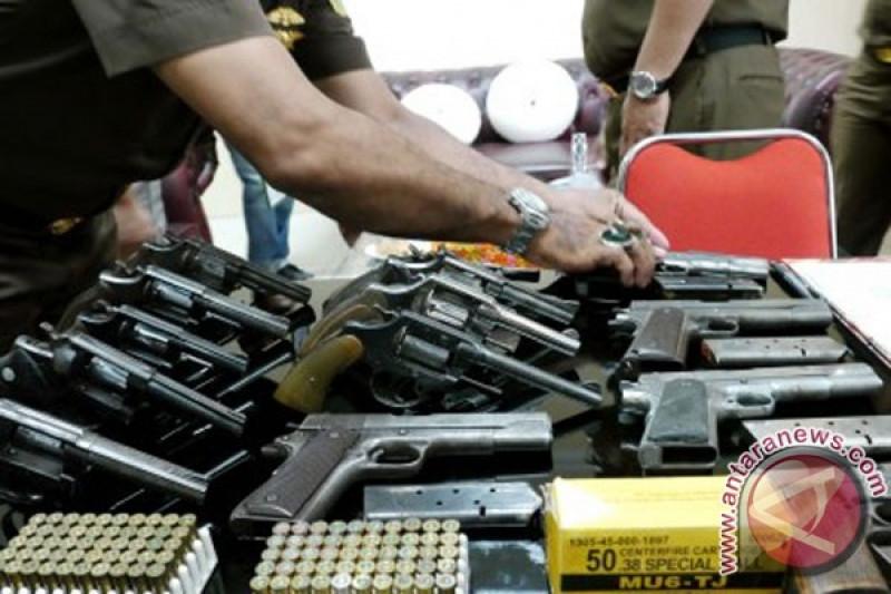 Belasan senjata api dimusnahkan di Balikpapan