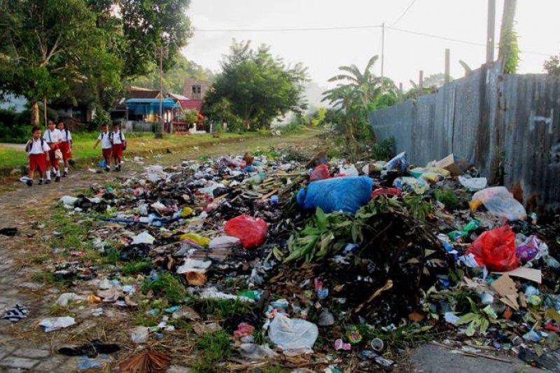 Tumpukan sampah