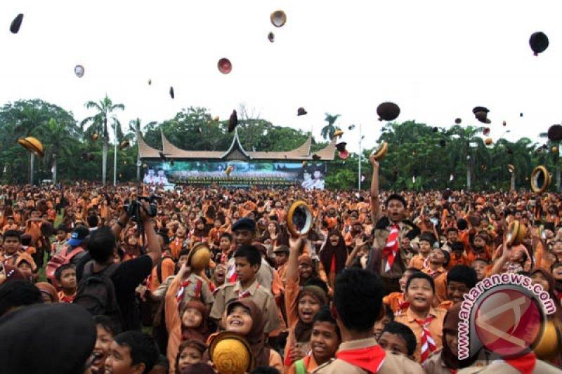Pramuka Indonesia raih WOSM di Kuala Lumpur