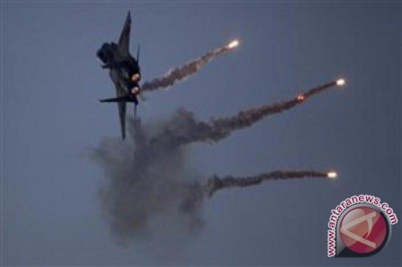Pertahanan udara Suriah tembak jatuh roket  yang melintasi Dataran Tinggi Golan  dari Israel