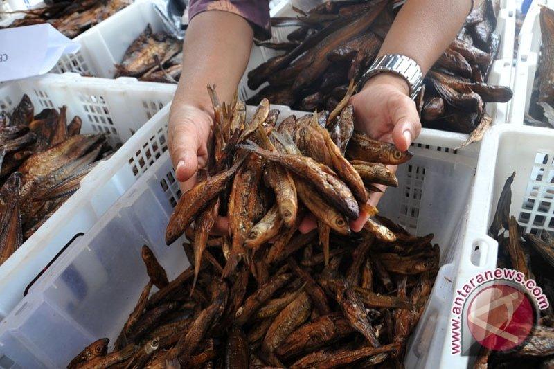 Pemudik buru Ikan asap Palembang