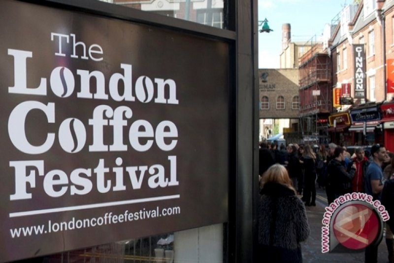 Paviliun Indonesia di serbu pengunjung London Coffee Festival