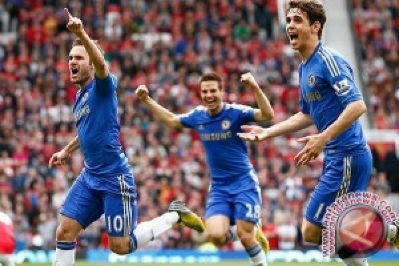 Chelsea Raih Kemenangan Kedua Tumbangkan Villa 2-1