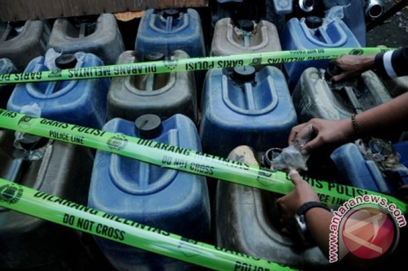 Polres Raja Ampat sita BBM ilegal
