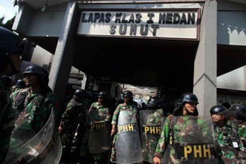 Ribuan napi di Medan dapat remisi Idul Fitri, 9 langsung bebas