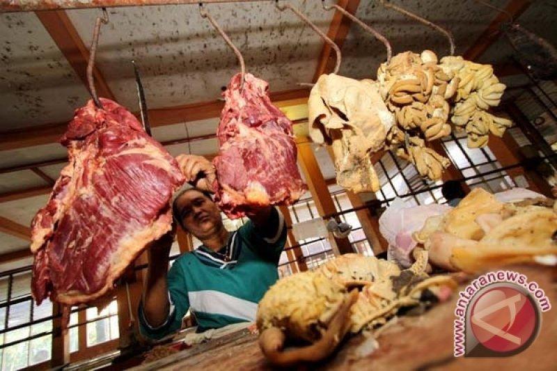Dispertanak Belum Temukan Daging Tak Layak Konsumsi