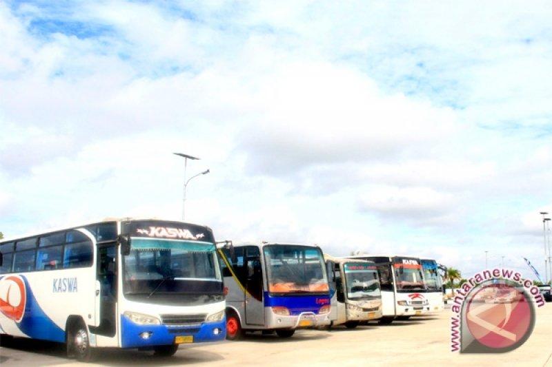 Bus hibah Kemenhub segera dioperasionalkan