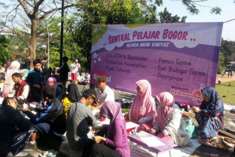 Relawan Bogor Maju buka layanan gratis