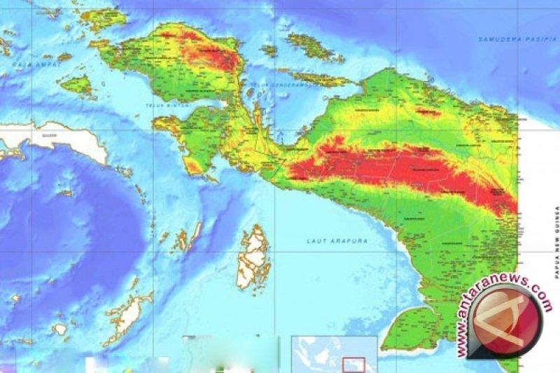 Kementerian ESDM membagikan lampu di pedalaman Papua
