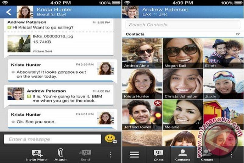 Ini cara install BBM di Android dan iPhone - ANTARA News