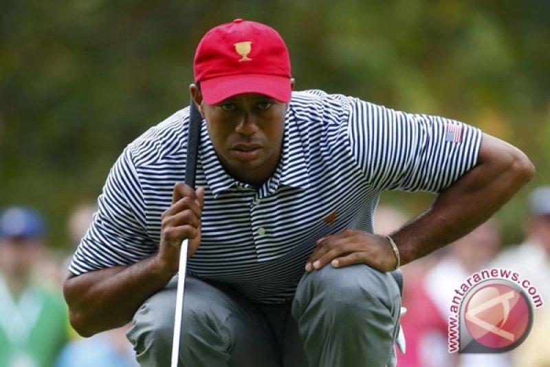 Woods tersingkir di pertengahan turnamen AS terbuka setelh mencatat skor 72 pukulan