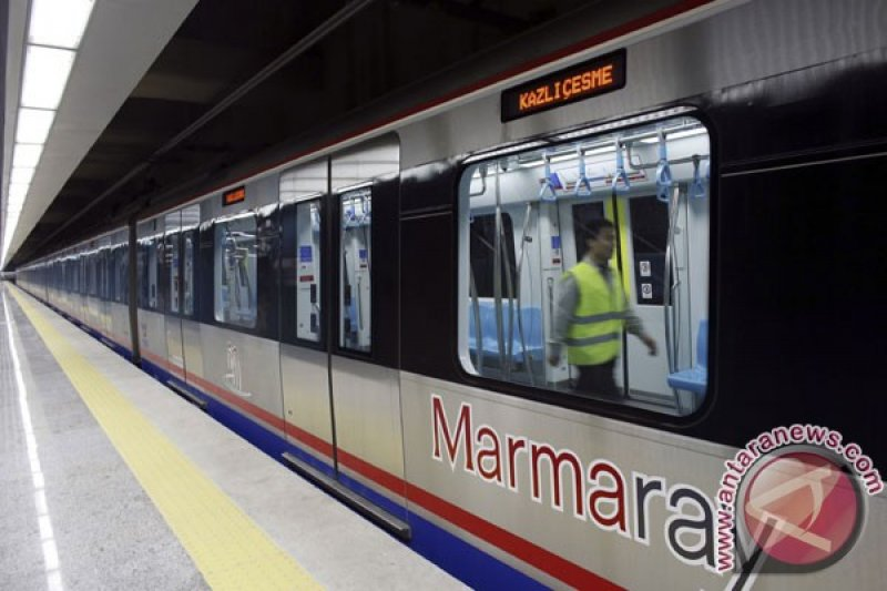 Rel kereta baru hubungkan Terminal Turki dengan China dan London