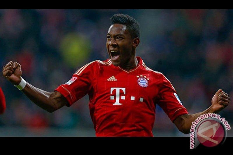 Barcelona bertekad memboyong David Alaba dari Bayern Muenchen