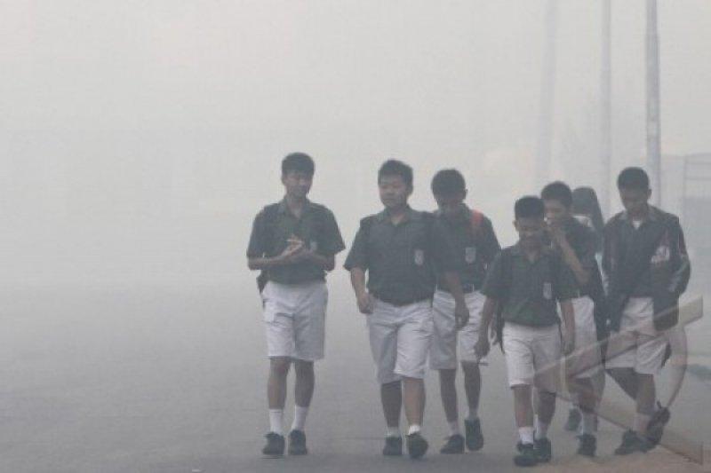 Kubu Raya kembali liburkan sekolah karena kualitas udara memburuk